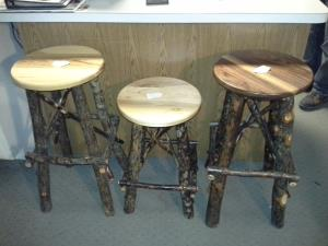 Stools-Varying Heights Available