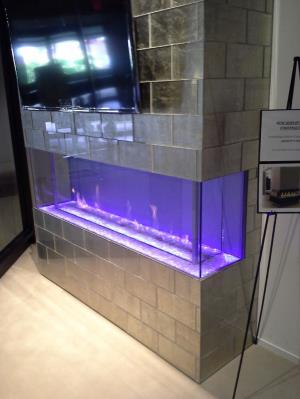 DaVinci Fireplace At Michigan Design Center In Troy
