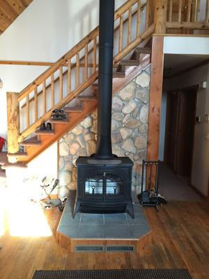Vermont Castings Defiant Flex Burn Wood Stove In Classic Black
