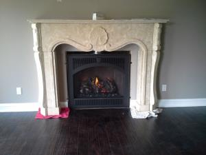 Travis 864 TRV GSR2 DLX SCR ZC Gas Fireplace