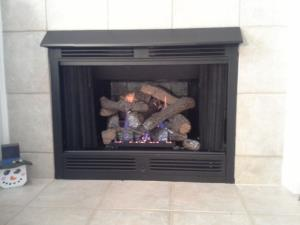 Empire 18 Inch Vent Free Gas Logs With Slope Glaze Burner And Ponderosa Logs