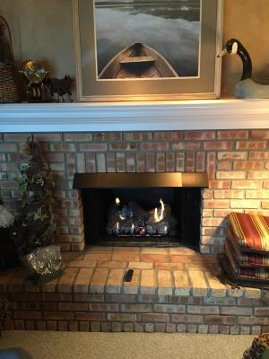 Empire 24 Inch Vent Free Gas Logs With Slope Glaze Burner And Sassafras Logs